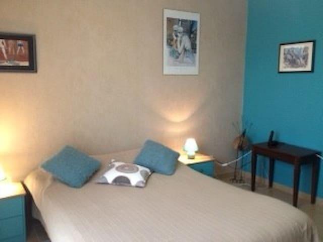 Gerstheim: chambre et séjour maison individuelle