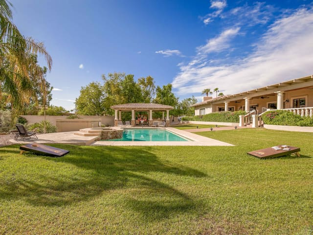 New Listing! Expansive Estate w/ Pool & Spa