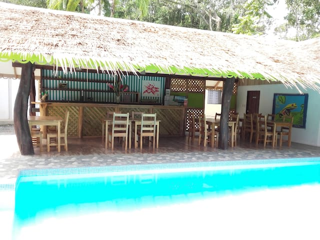 Rana de Cahuita-Casa amarilla-6p - Cahuita - บ้าน