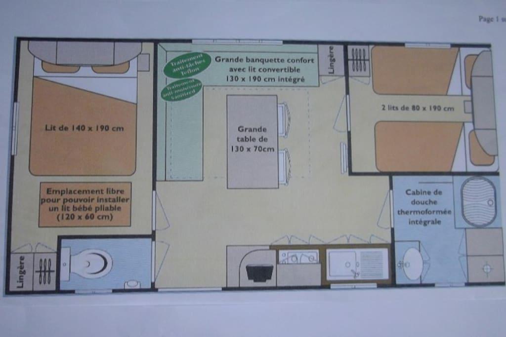 Plan de la Location