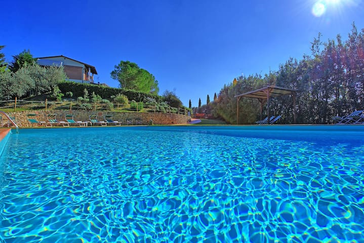 Casa Vasco - Holiday Villa Rental with swimming pool in Chianti, Tuscany