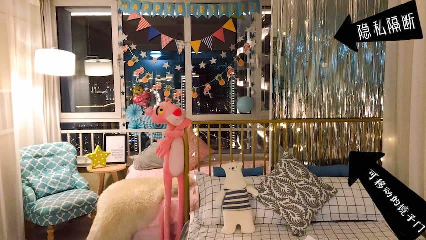 【Dori's Home】市中心宝藏民宿,全新装修已上线 万达商场楼上电梯直达 可带宠物