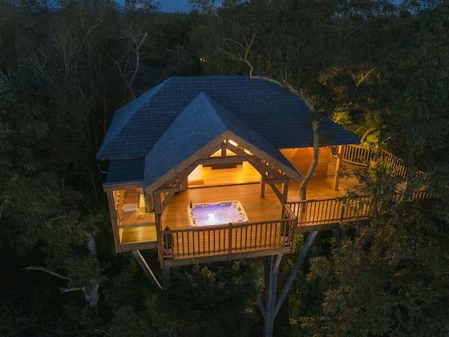 Cabane de Prestige avec Sauna et Jacuzzi privatifs