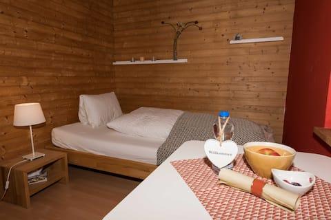BnB Alpenblick (Einzelzimmer mit Gemeinschaftsbad)