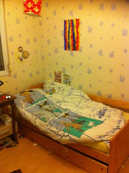 Chambre 1 avec lit tiroir