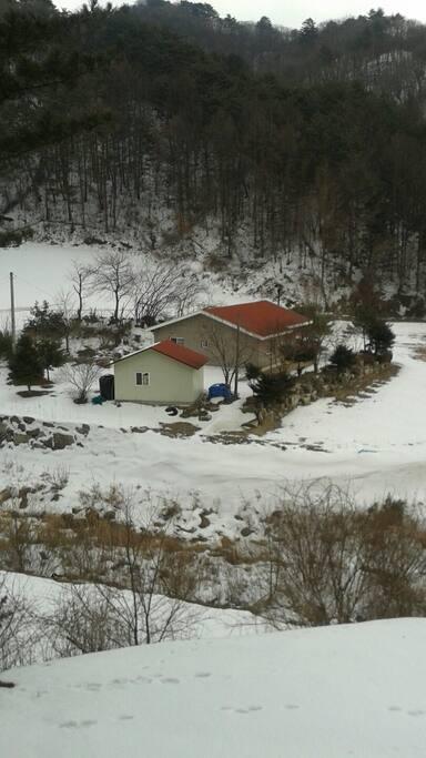 주택전경 (겨울)