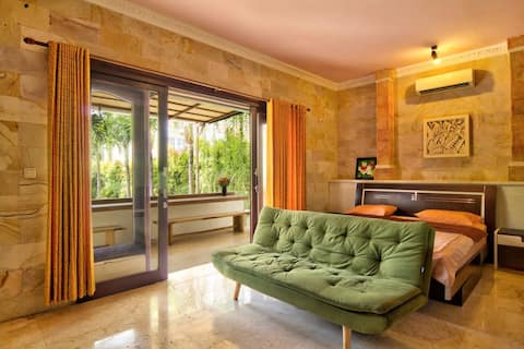 Serenity Twin Canggu Pool View with sofa bed (G2)