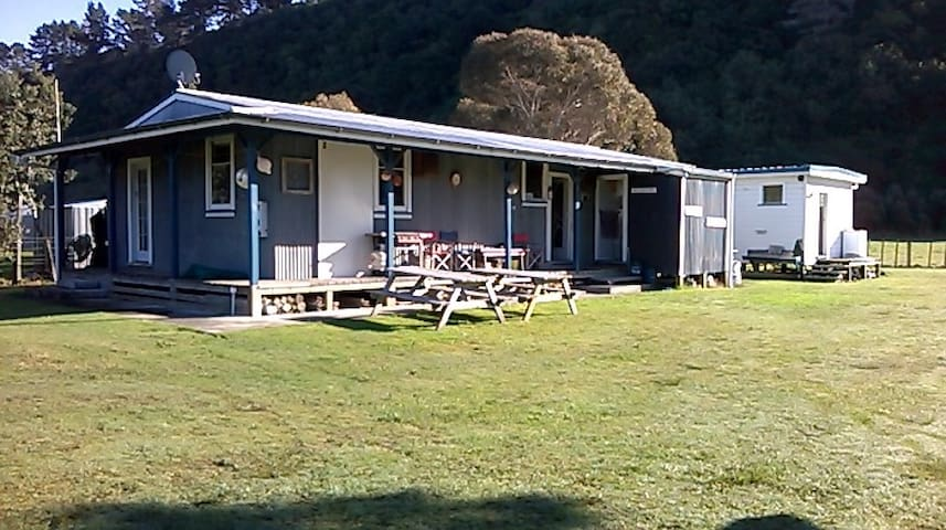 Ideal accomodation for back packers and families
