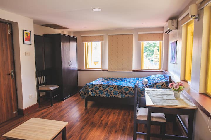 Deluxe Room with Private Bathroom and AC