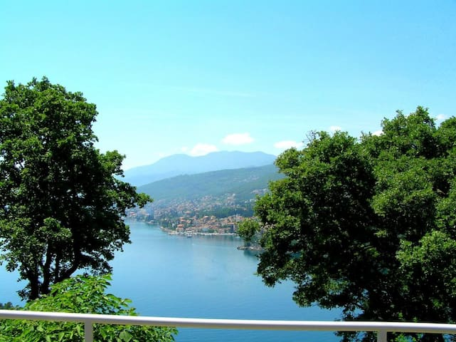 Cute apartment with panoramic view - Opatija - Pis