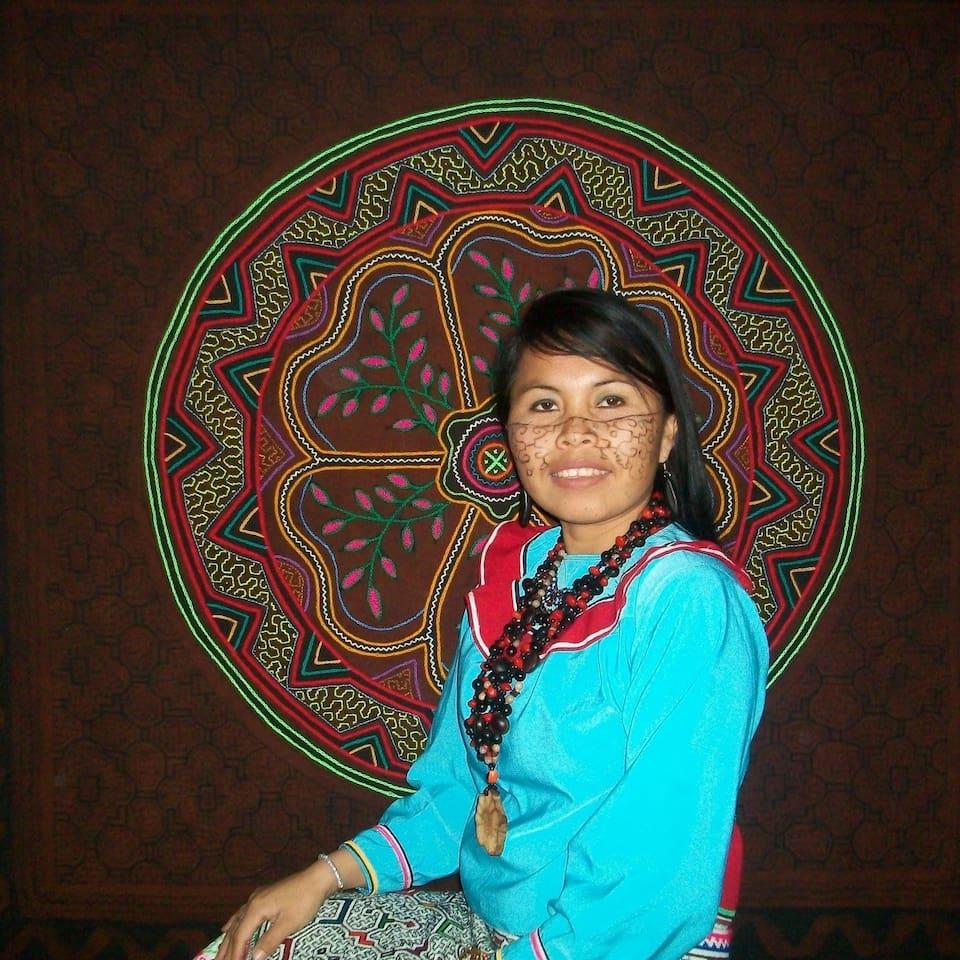 One of your hosts Shipibo Native of the Ucayali speaks Spanish Shipibo and Basic English
