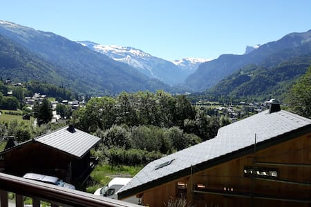 Studio with stunning view of Samoëns and WIFI
