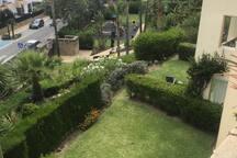 Jardín desde la Terraza