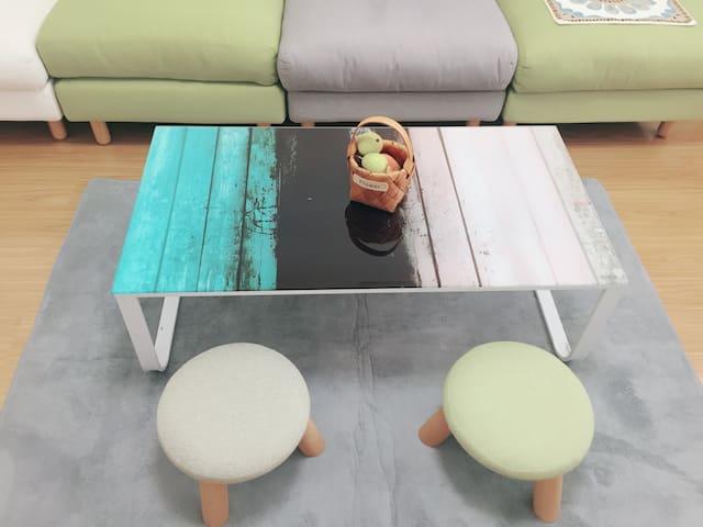 【童年记忆】爱米粒的50平一室两厅温暖舒适小屋 整套出租