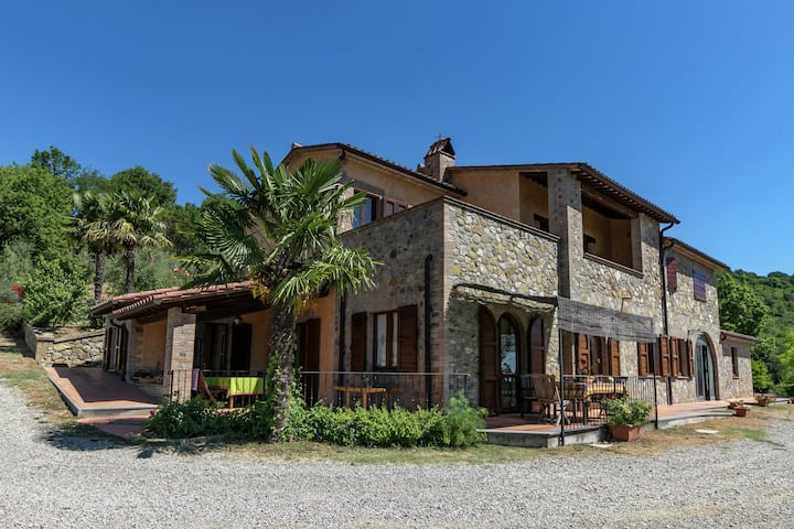 Spacious Farmhouse in Ficulle with Swimming Pool
