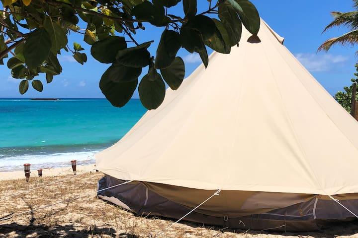 Simpson Bay Beach Luxury Camping