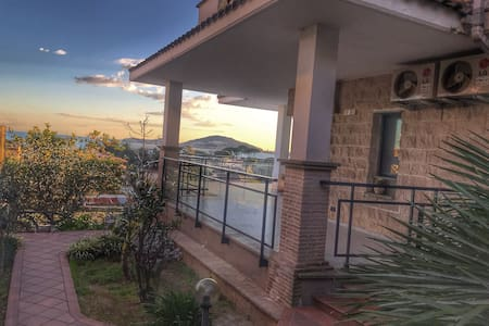 Formia panoramic sea view apartment.