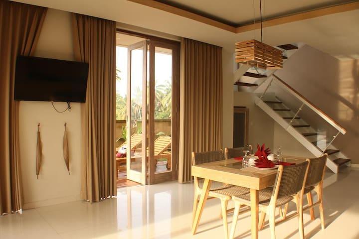 Luxury 1 BR Private Pool Villa near Ubud