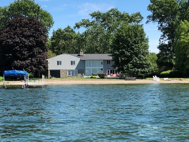 Stunning 4,000 sq ft lakeside home on Owasco Lake.