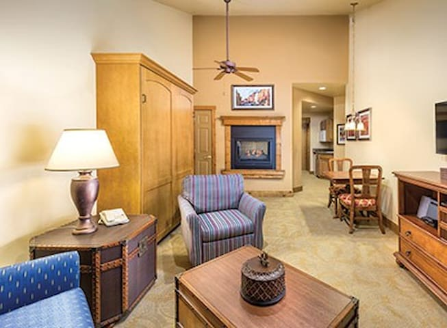Studio at Beautiful WorldMark Galena!