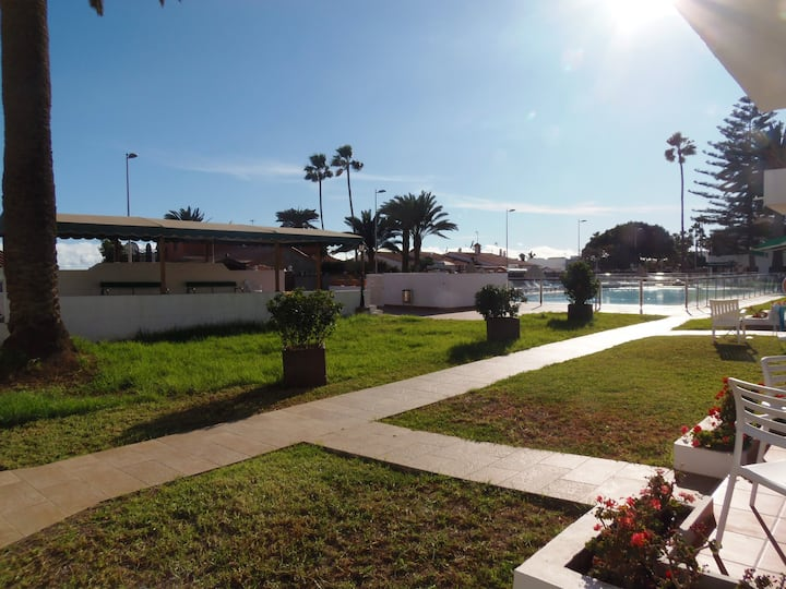 116 Apartamento 4 personas a nivel jardin-piscina