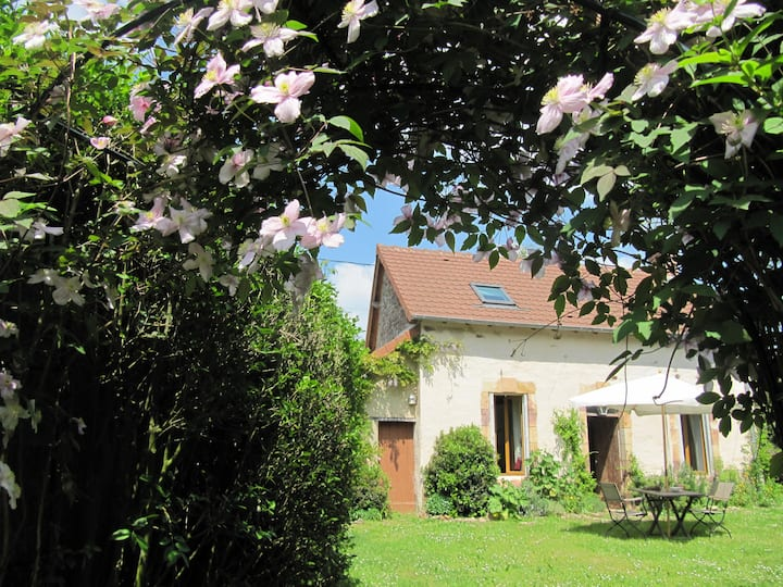 Au milieu de France en pleine campagne;gite sympa!