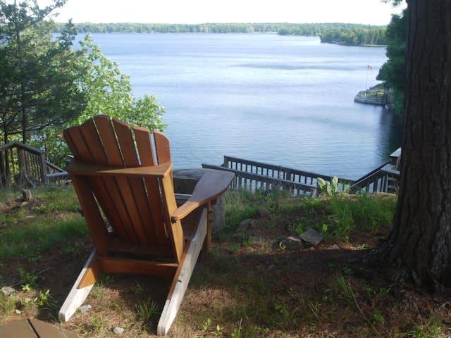 Big Rideau Lakehouse Retreat