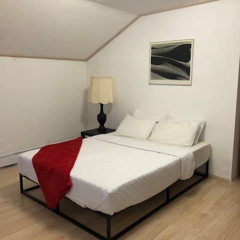Large Private Bedroom #1 (Close to F & E train)