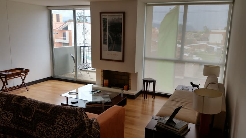 Cómoda habitación en Apartamento en Chía