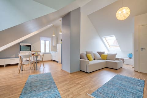 Ideal apartment for couples/family. Free parking