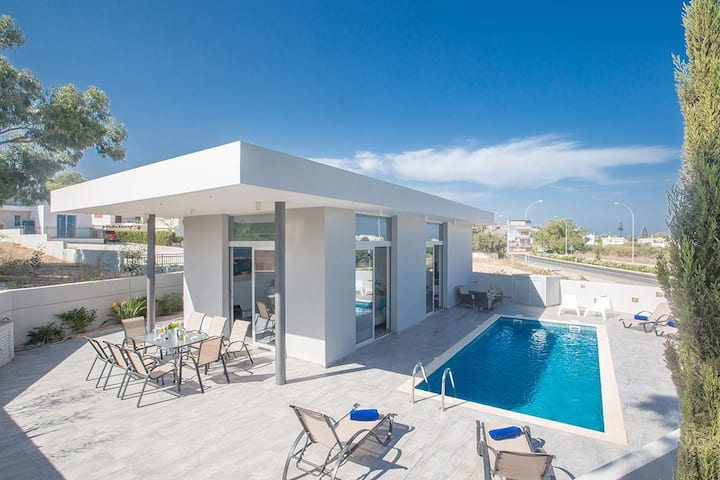 Protaras Holiday Villa PO490A