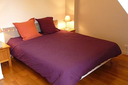Chambre privée dans maison néobretonne avec jardin - Brest