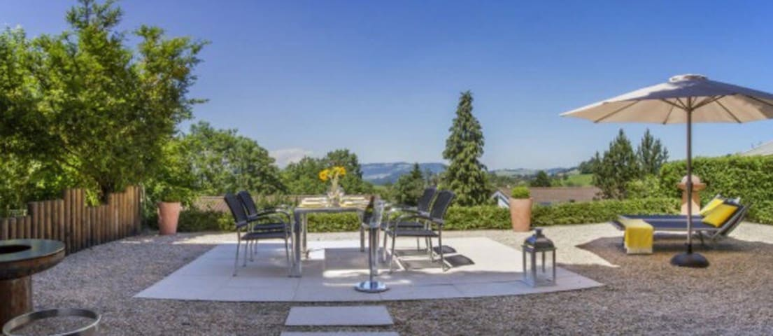 Modern family house, 10 min from Zug
