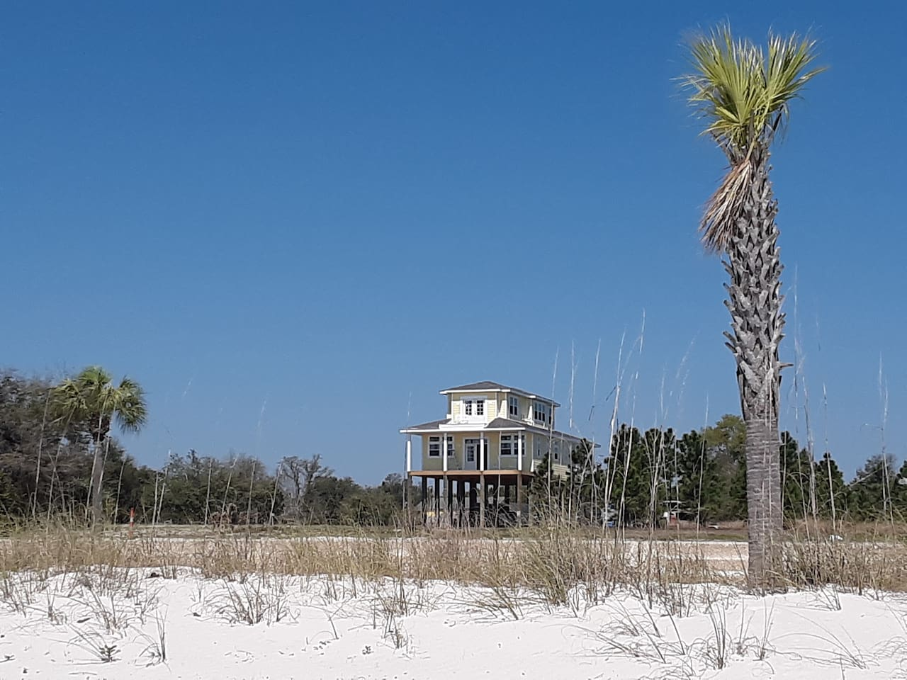 View of our home from the water