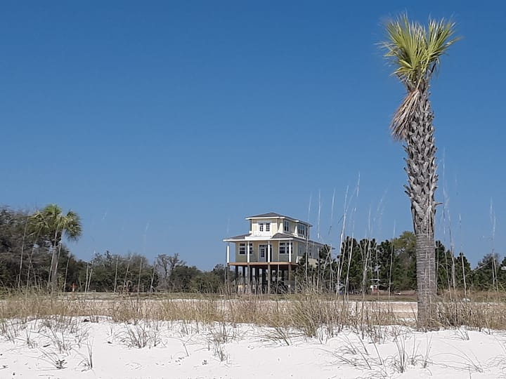 """Sea View Hideaway #2"" Brand NEW home on beach"