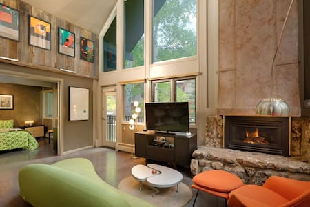 Stylish Modern Mountain Views in Downtown ASPEN CORE w/Free Wifi and Hot Tub Great Location!