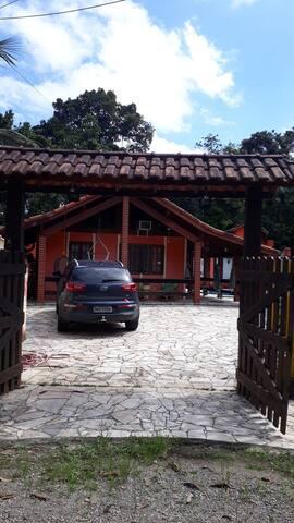 Casa Praia Cond Guaratuba/Bertioga R santos  km203