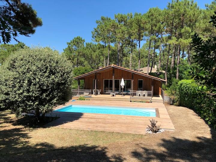 Villa familiale & piscine - Cap Ferret - Piraillan