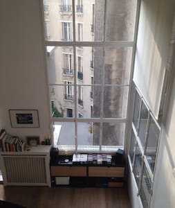 Corbusier style Loft 700Sf in perfect location - París