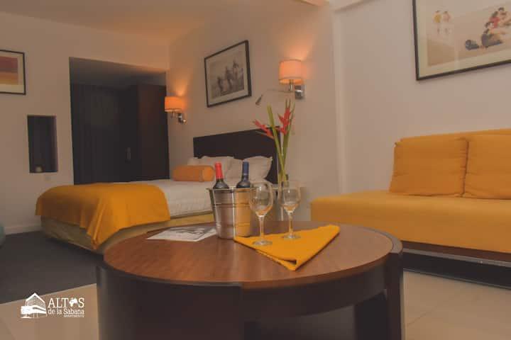 Apartamento tipo Loft - 1 cama