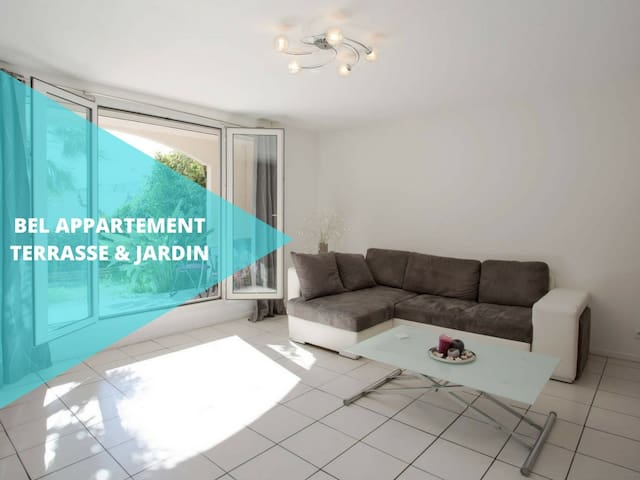 Beautiful apartment terace & garden - Toulon - Apartament
