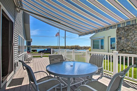 NEW! Niantic Getaway w/Water Views - Walk to Beach