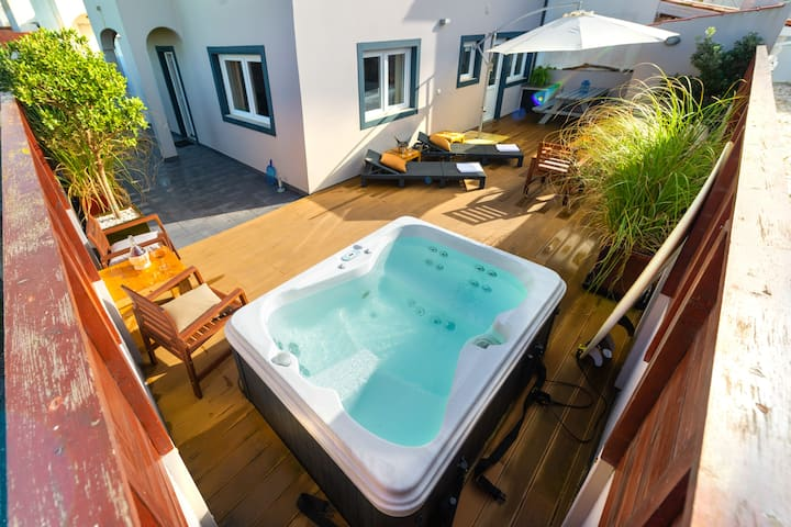 Jacuzzi & Garden & Privacy - Surf Atlantic Baleal