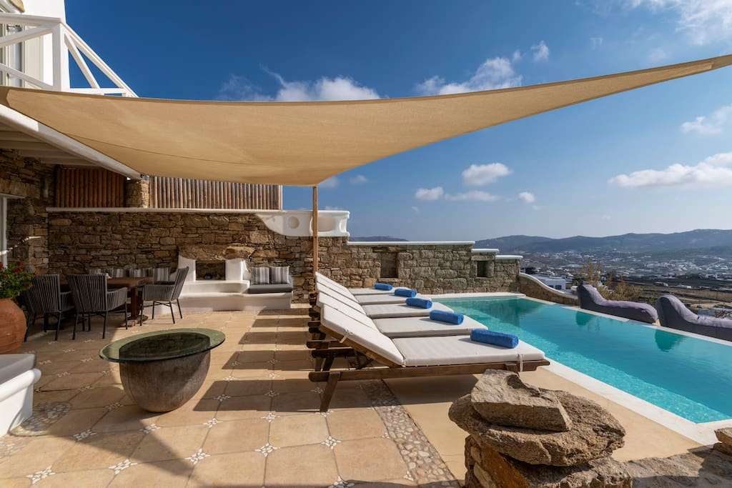 Private pool - terrace