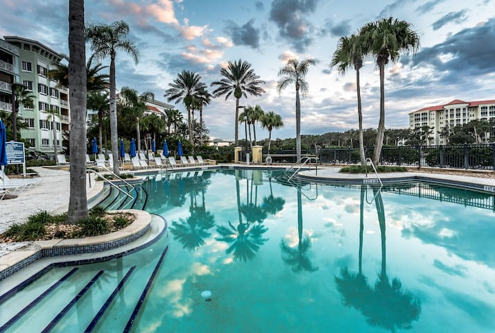 Hammock Beach Golf Resort and Spa - 2 BR 474 Intracoastal View Condo in the Yacht Harbor