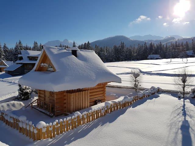 Chata Przy Dolinie, z sauną