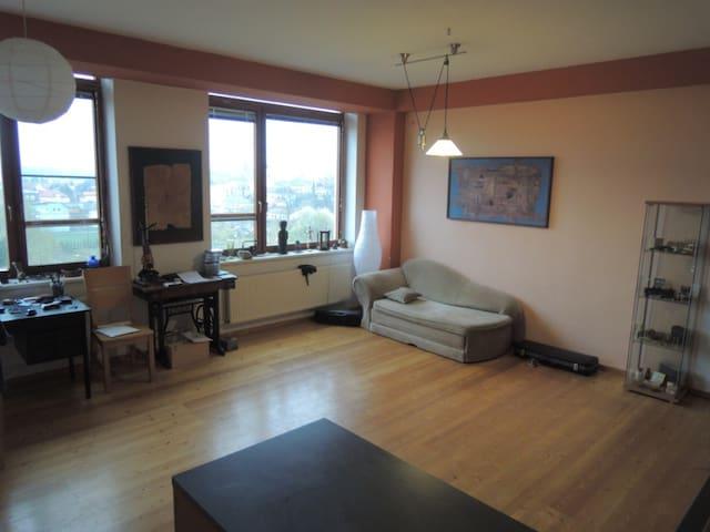 Pokoj s výhledem na Beskydy - Valašské Meziříčí - Appartement