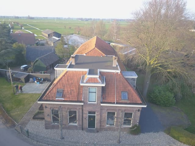 Private appartment in a farmhouse!