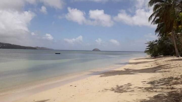 La Martinique à 5 mn de la plage, c'est le top !