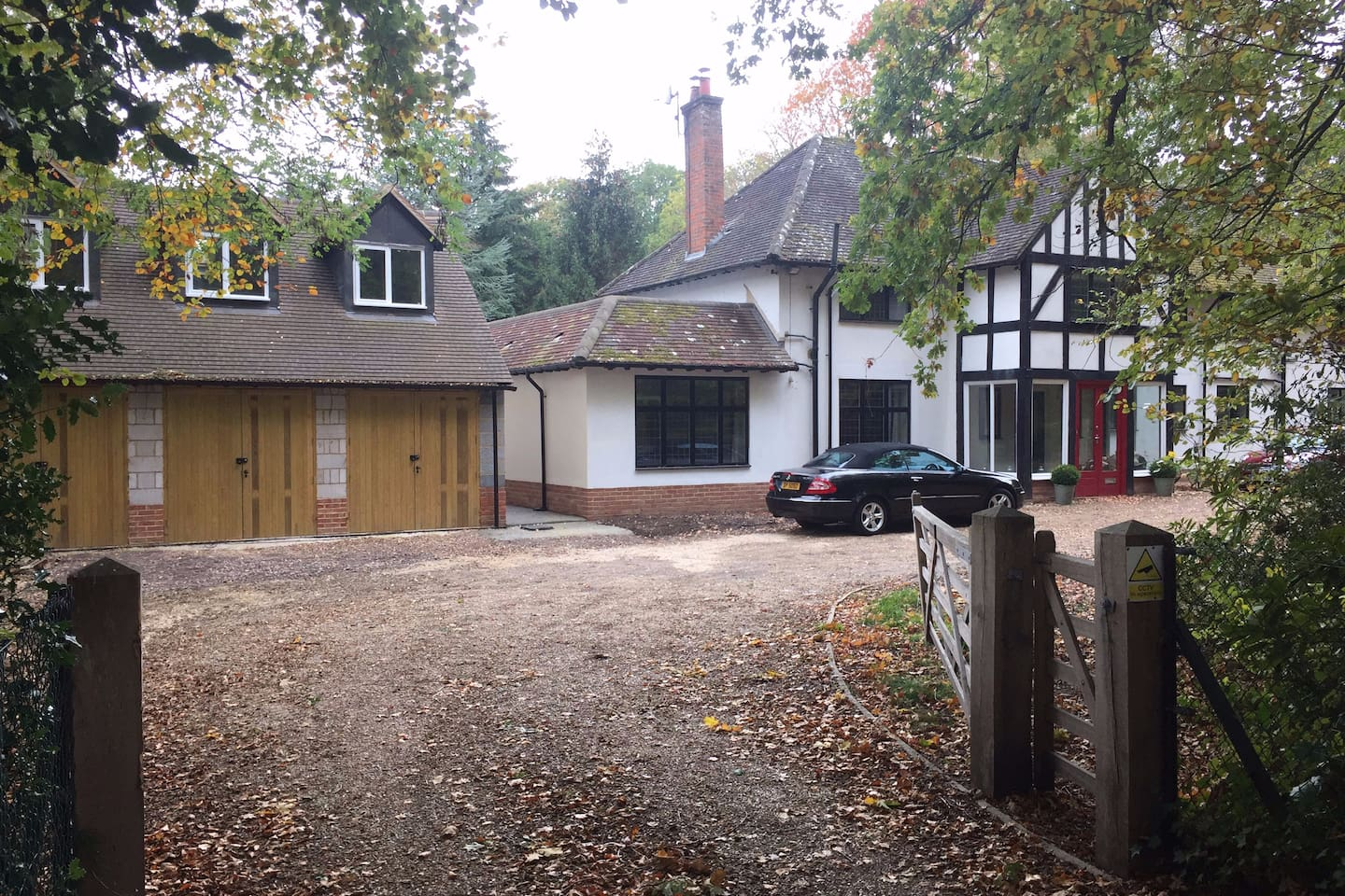 Annexe is separate to the main house